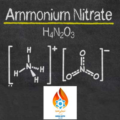 فرمول نیترات آمونیوم