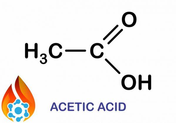 فرمول استیک اسید