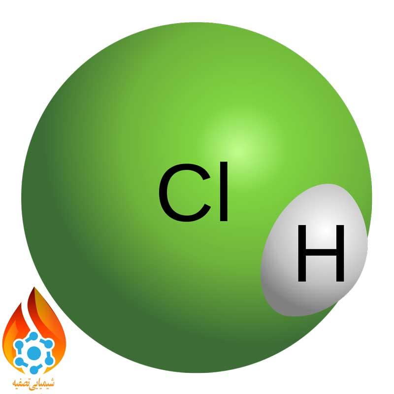 اتم اسید کلریدریک